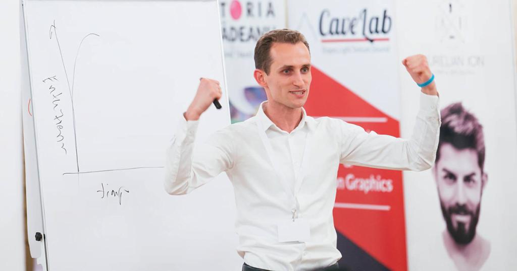 Ilie Dercaci - business trainer